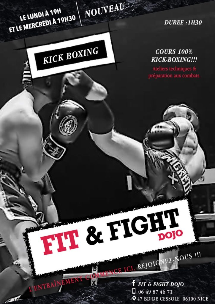 FLYER KICKBOXING FIT&FIGHT DOJO NICE