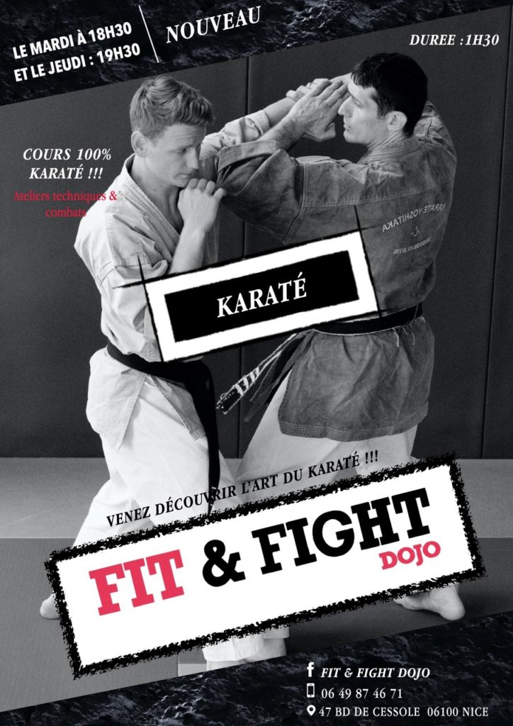 FLYER KARATE FIT&FIGHT DOJO NICE